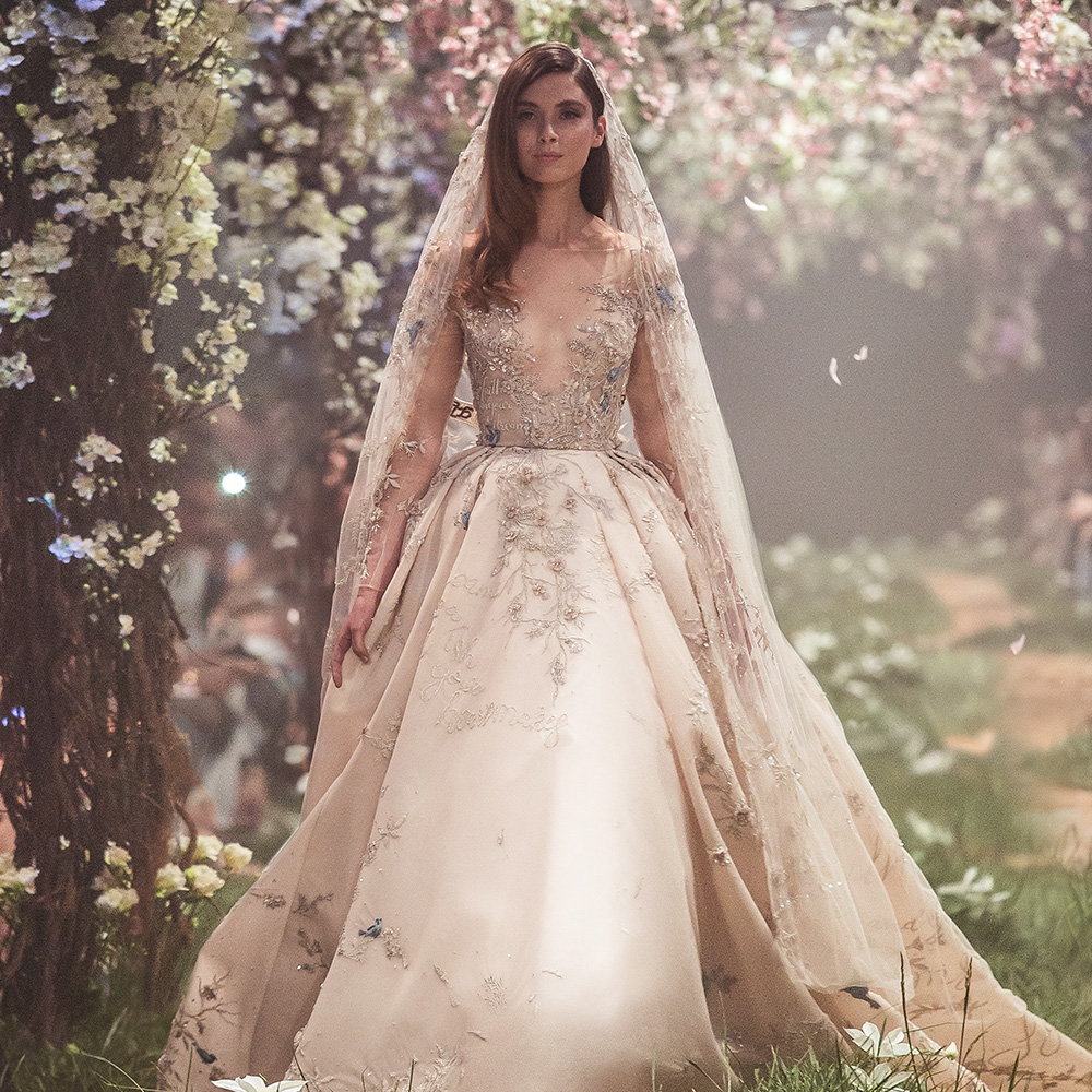 "Paolo Sebastian Spring 2018 Couture Collection — ""Once Upon A Dream ..."