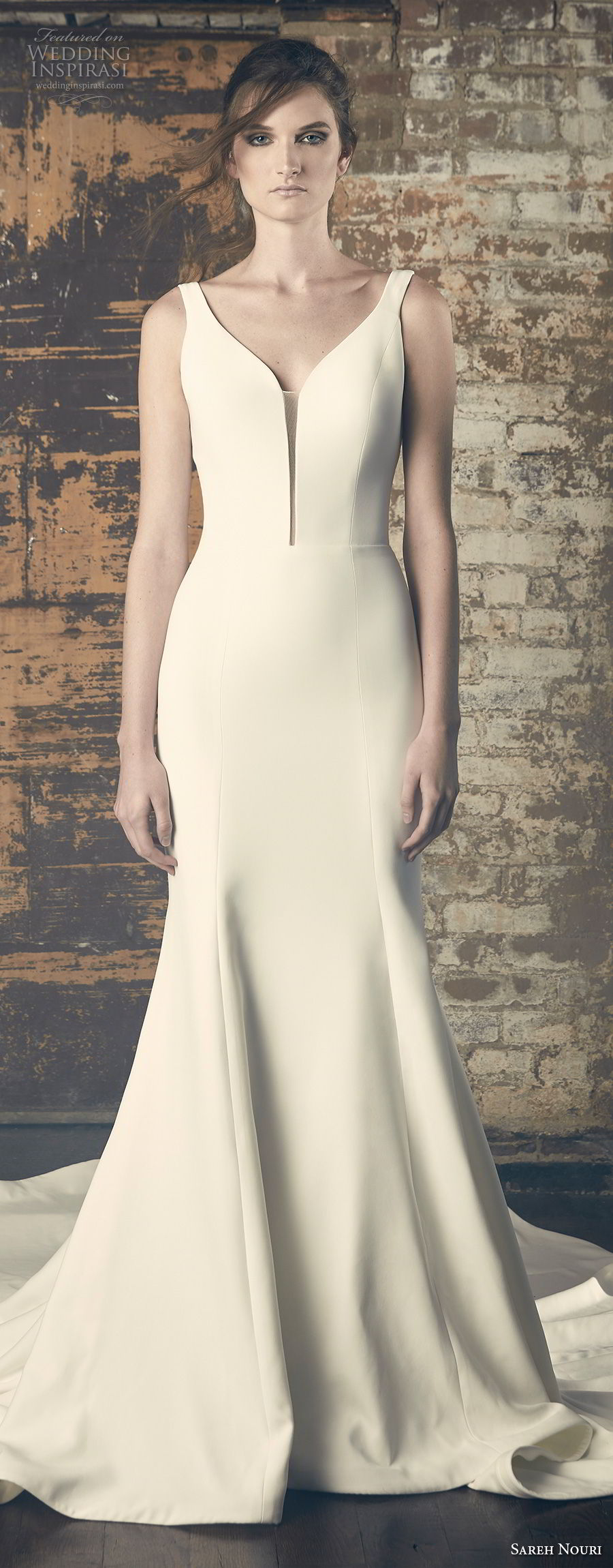 Sareh Nouri Fall 2018 Wedding Dresses Inspirasi Elegant For