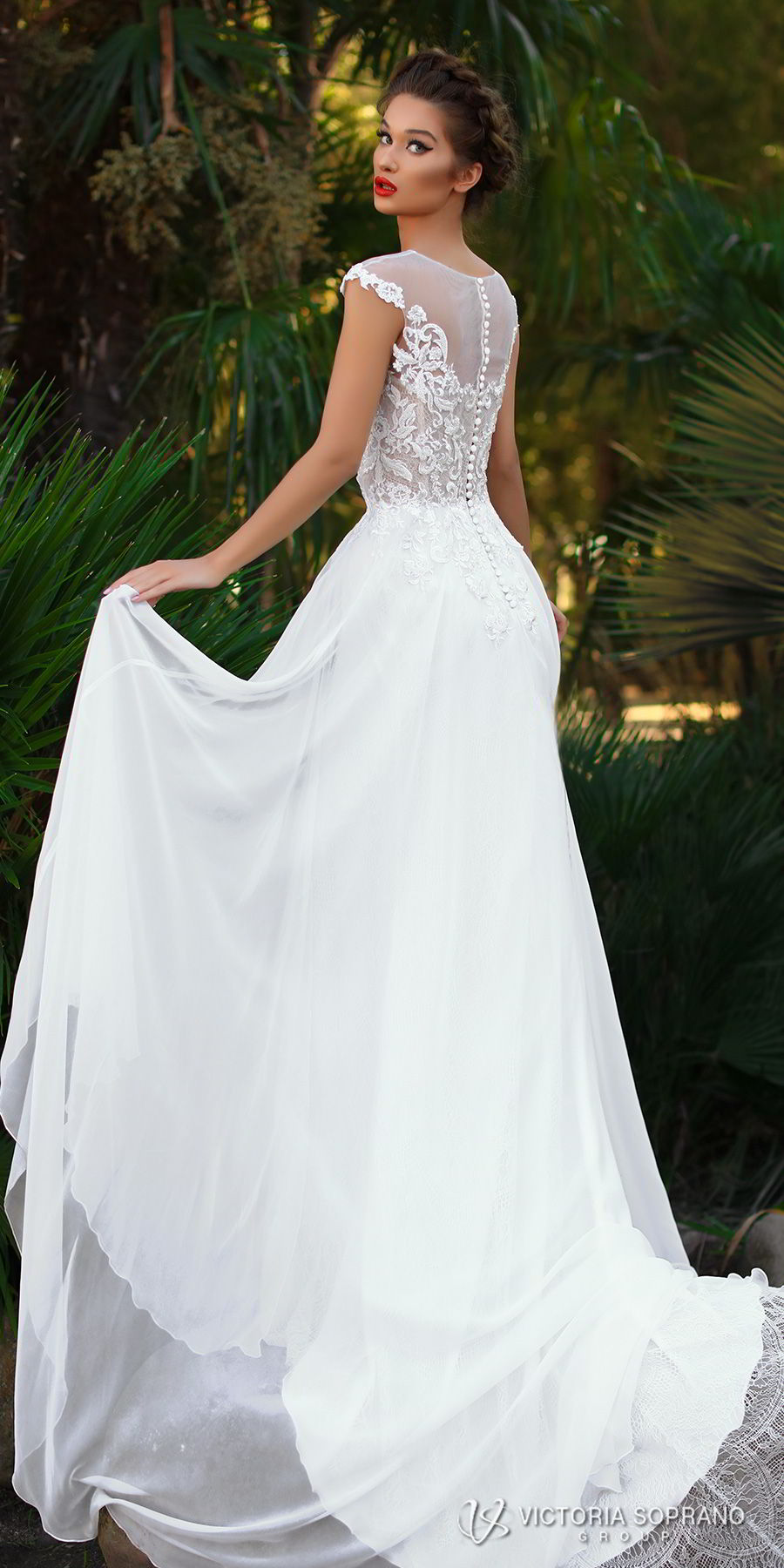 "139d291247ed5 Victoria Soprano 2018 Wedding Dresses — ""The One"" Bridal Collection ..."
