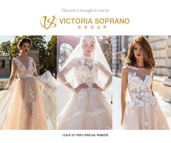 victoria soprano 2018 bridal collection the one banner below