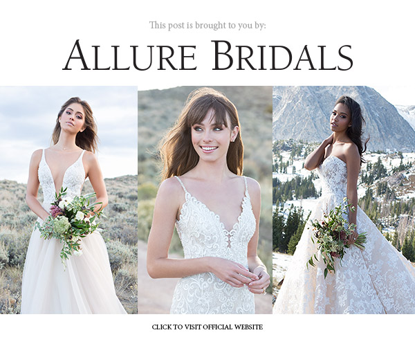 allure bridals spring 2018 collections sweepstakes banner below