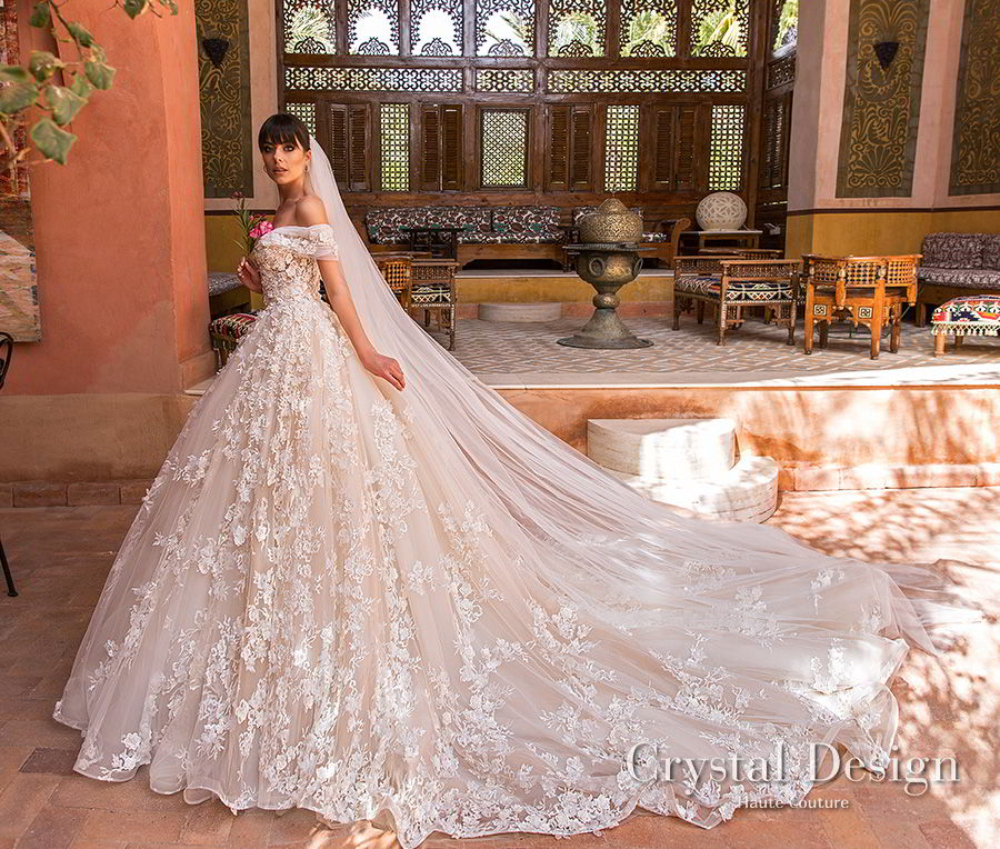 Crystal Wedding Gown: Crystal Design 2018 Wedding Dresses