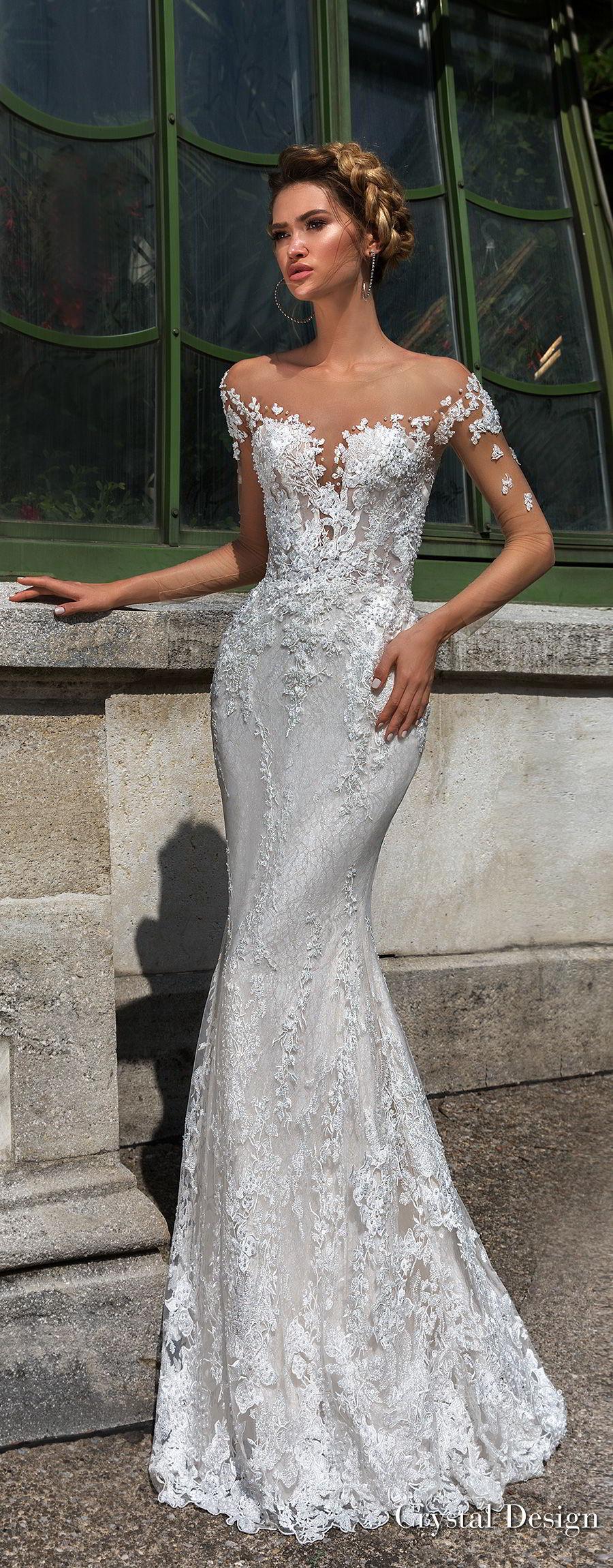 "46646aa50614f Crystal Design 2018 Wedding Dresses — ""Royal Garden"" & Haute Couture ..."