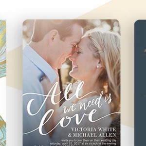 shutterfly the wedding shop stationery invitation save the date homepage
