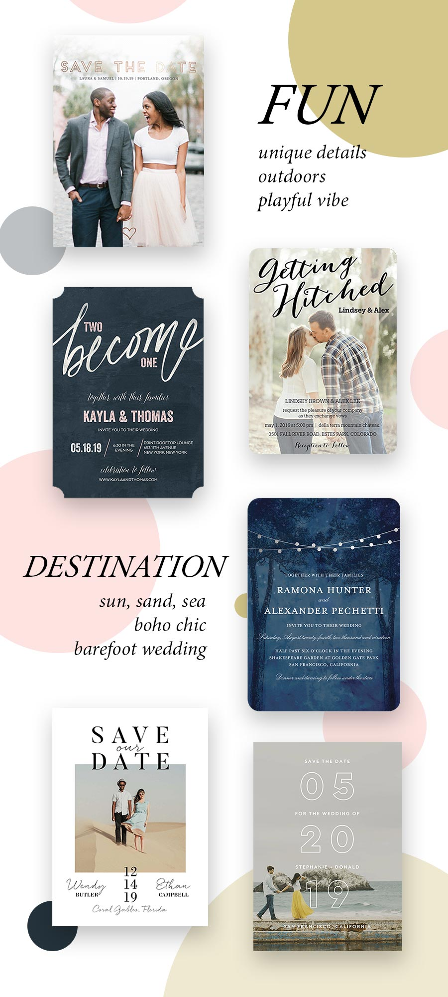 Nail Your Stationery Style with The Wedding Shop by Shutterfly ...