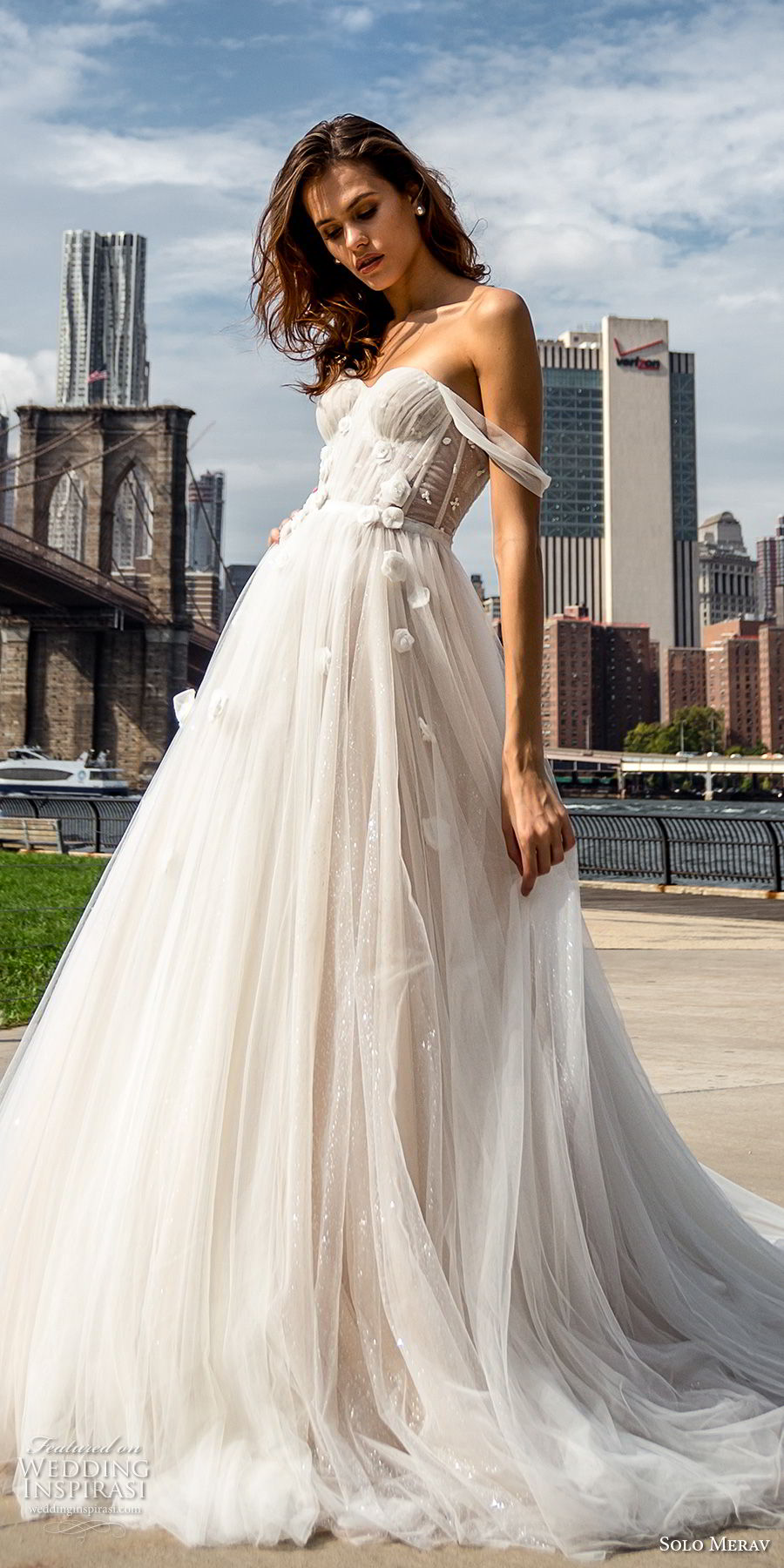 "Solo Merav 2018 Wedding Dresses — ""White Princess"" Bridal Collection ..."
