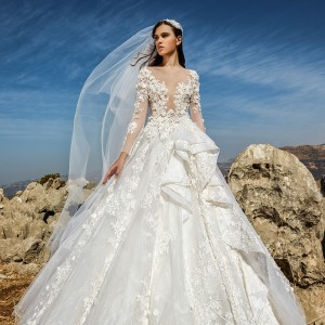 tony ward fall 2018 bridal wedding inspirasi featured wedding gown dresses collection