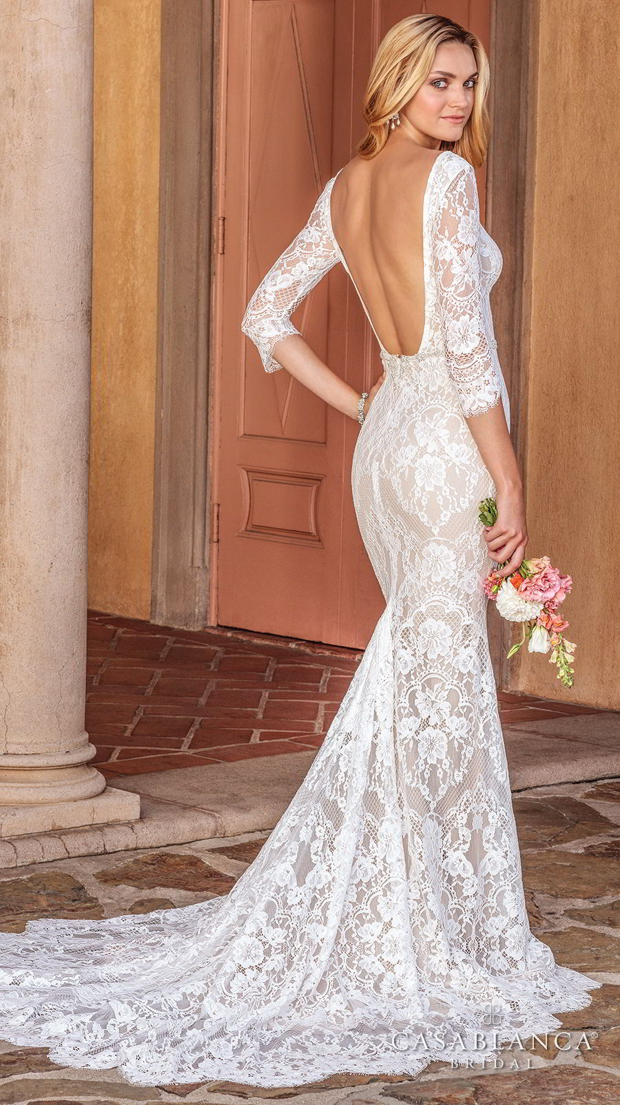 The Spring 2018 Casablanca Bridal Collection Is All Kinds Of