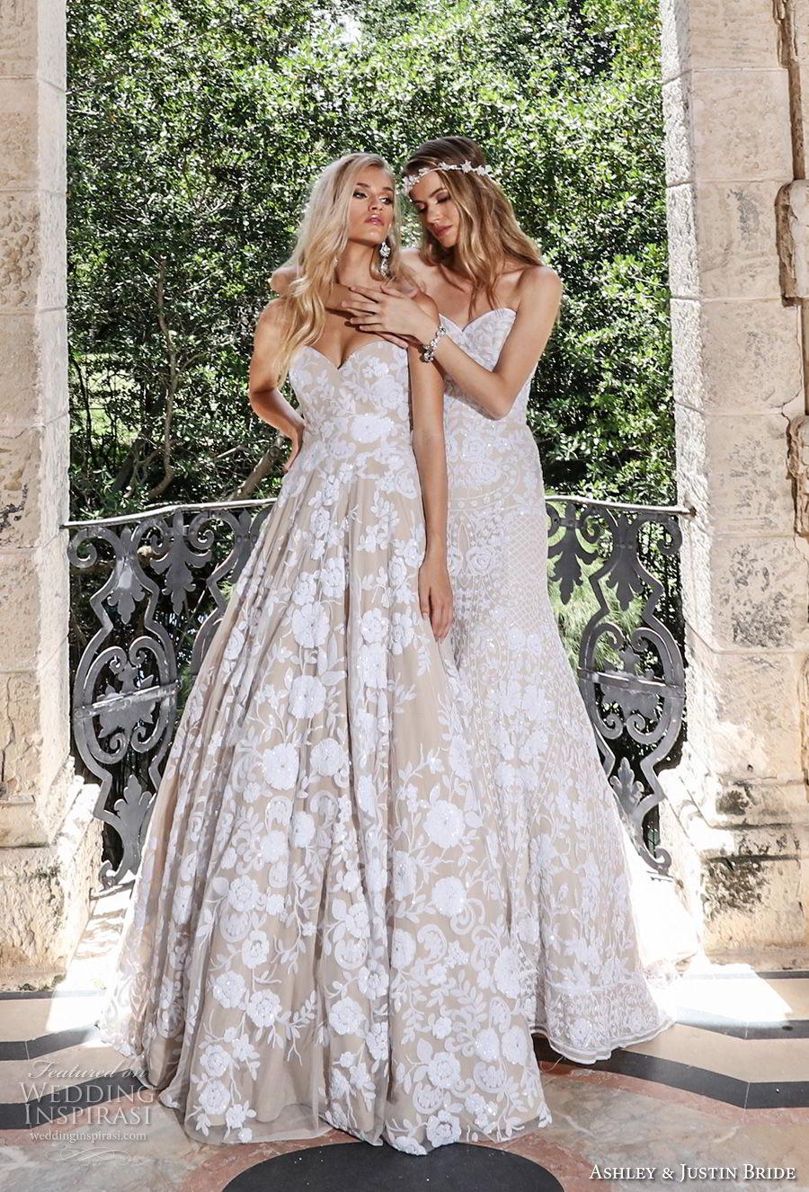 ashley justin spring 2018 bridal wedding gowns 2