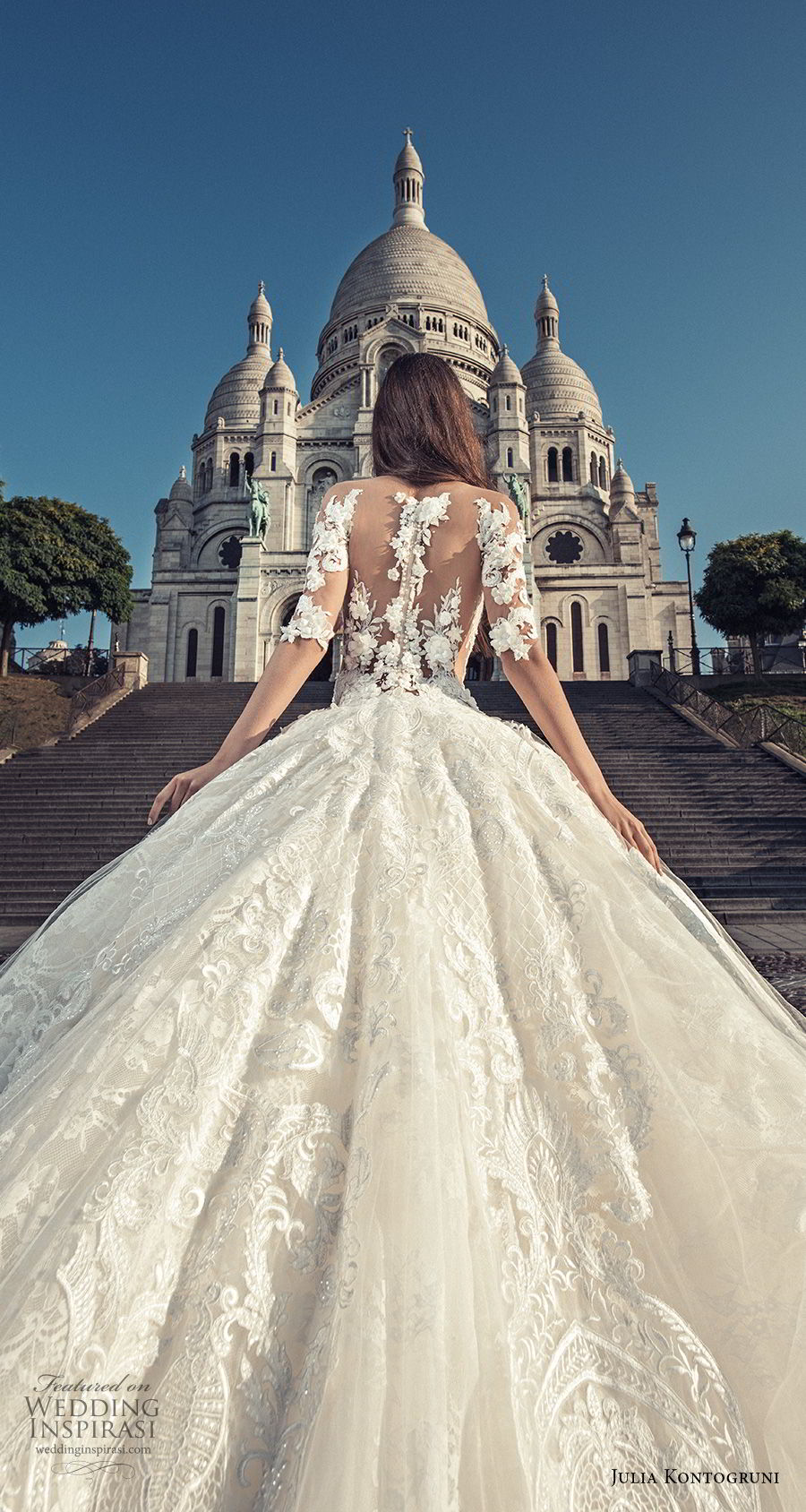 julia kontogruni wedding dresses 2018 � �paris� bridal