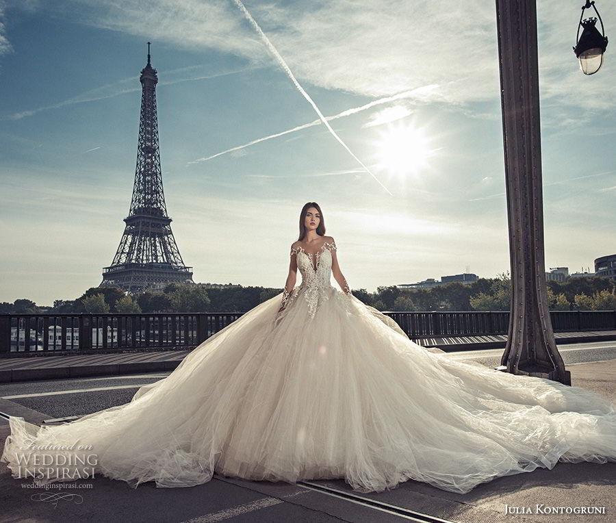 Paris Wedding Gowns: Julia Kontogruni Wedding Dresses 2018