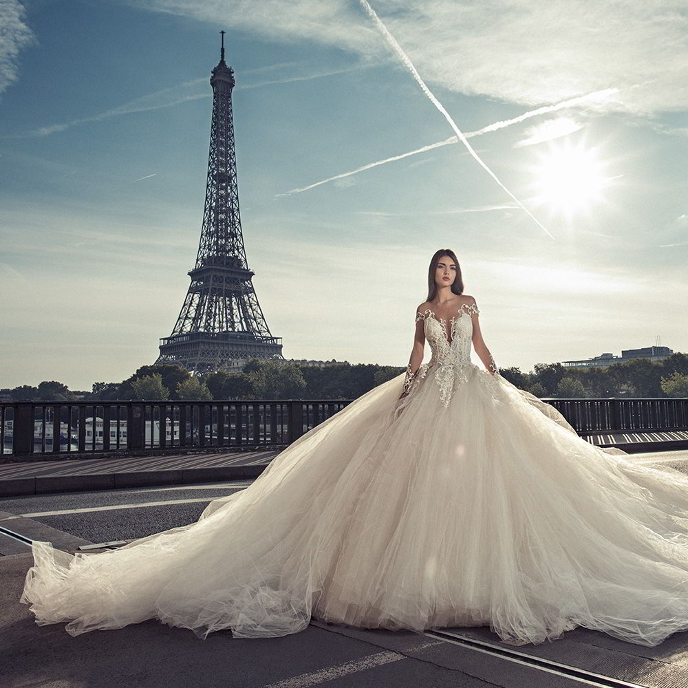 Pictures Of Gowns For Wedding: Julia Kontogruni Wedding Dresses 2018