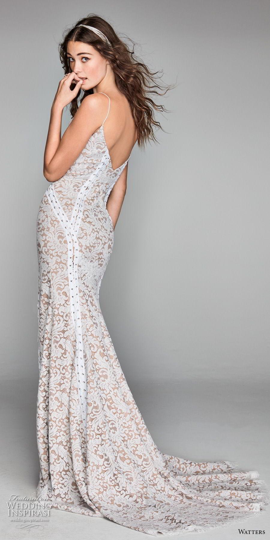 willow by watters spring 2018 spaghetti strap square neckline full embellishment side slit elegant sheath wedding dress open back sweep train (11) bv