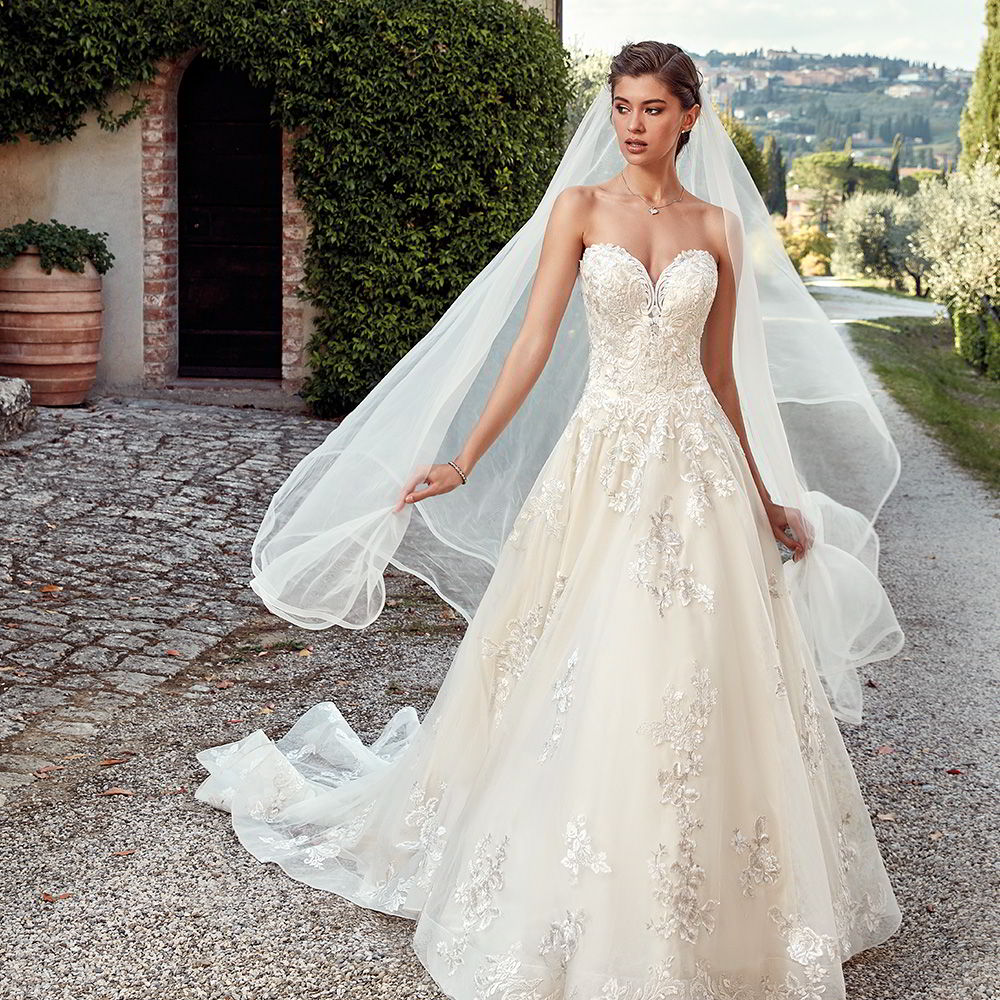 Bridal Dresses 2019: Eddy K. 2019 Wedding Dresses