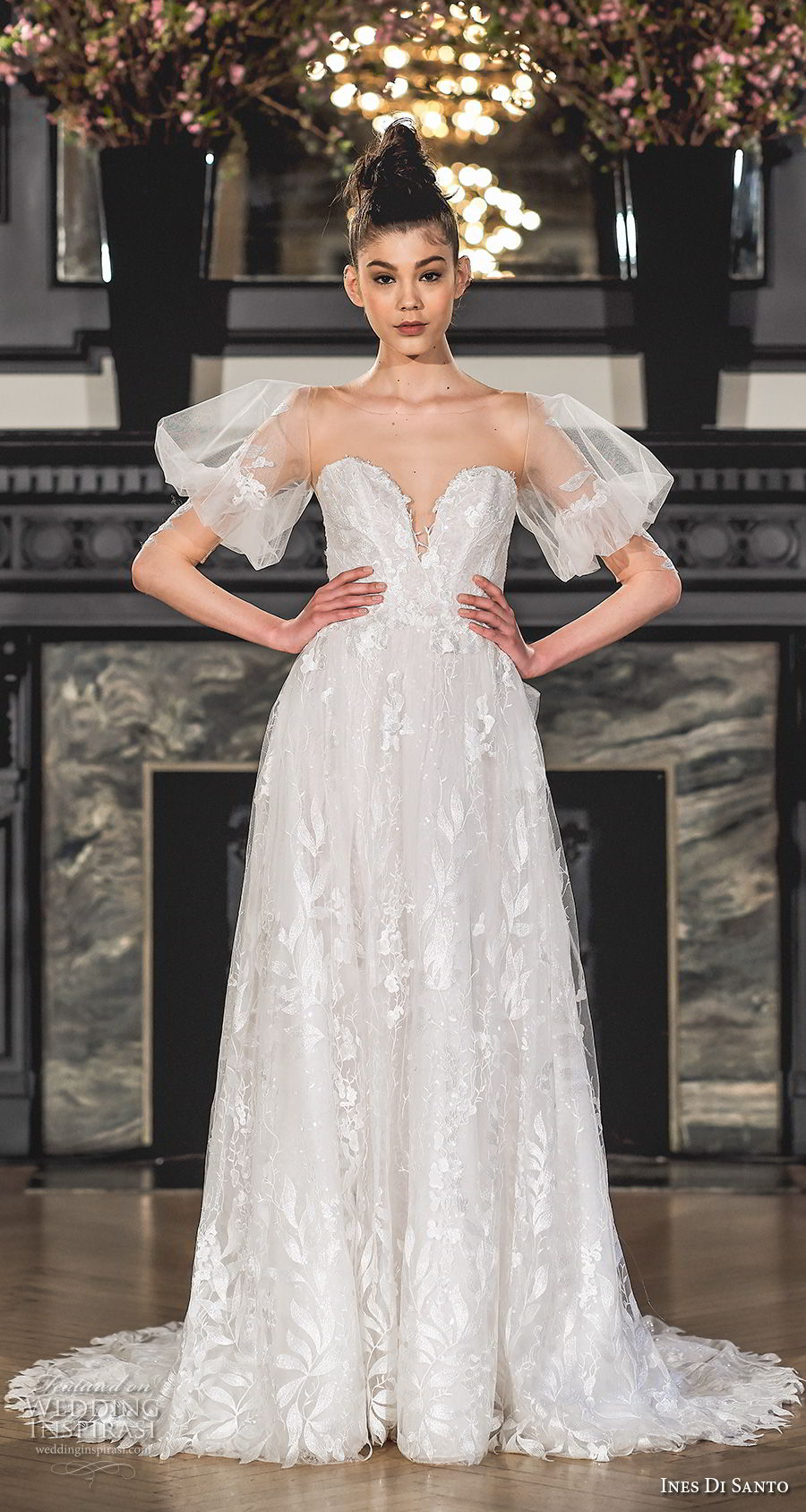 Ines di santo spring 2019 wedding dresses modern for Ines di santo wedding dresses prices