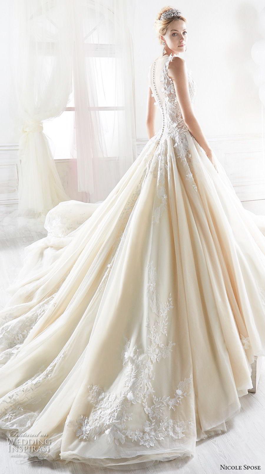 comprare on line ea6a4 f3819 Nicole 2018 Bridal Collection — Princess-Ready Wedding ...