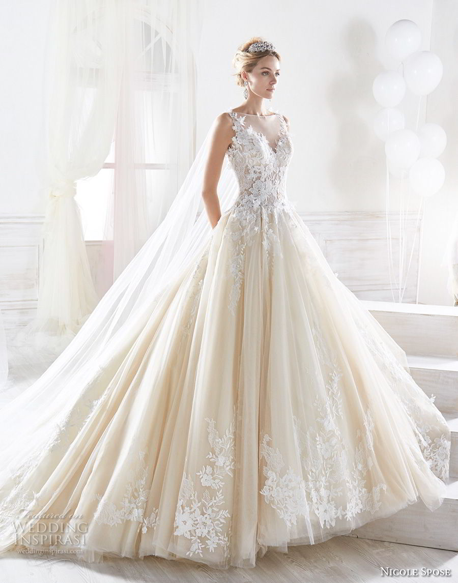 Nicole 2018 Bridal Collection Princess Ready Wedding