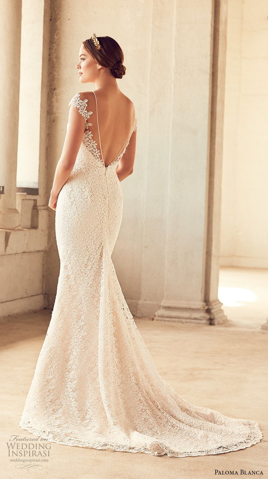 Paloma Blanca Spring 2018 Wedding Dresses Wedding Inspirasi