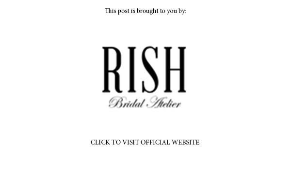 rish bridal 2018 collection banner below