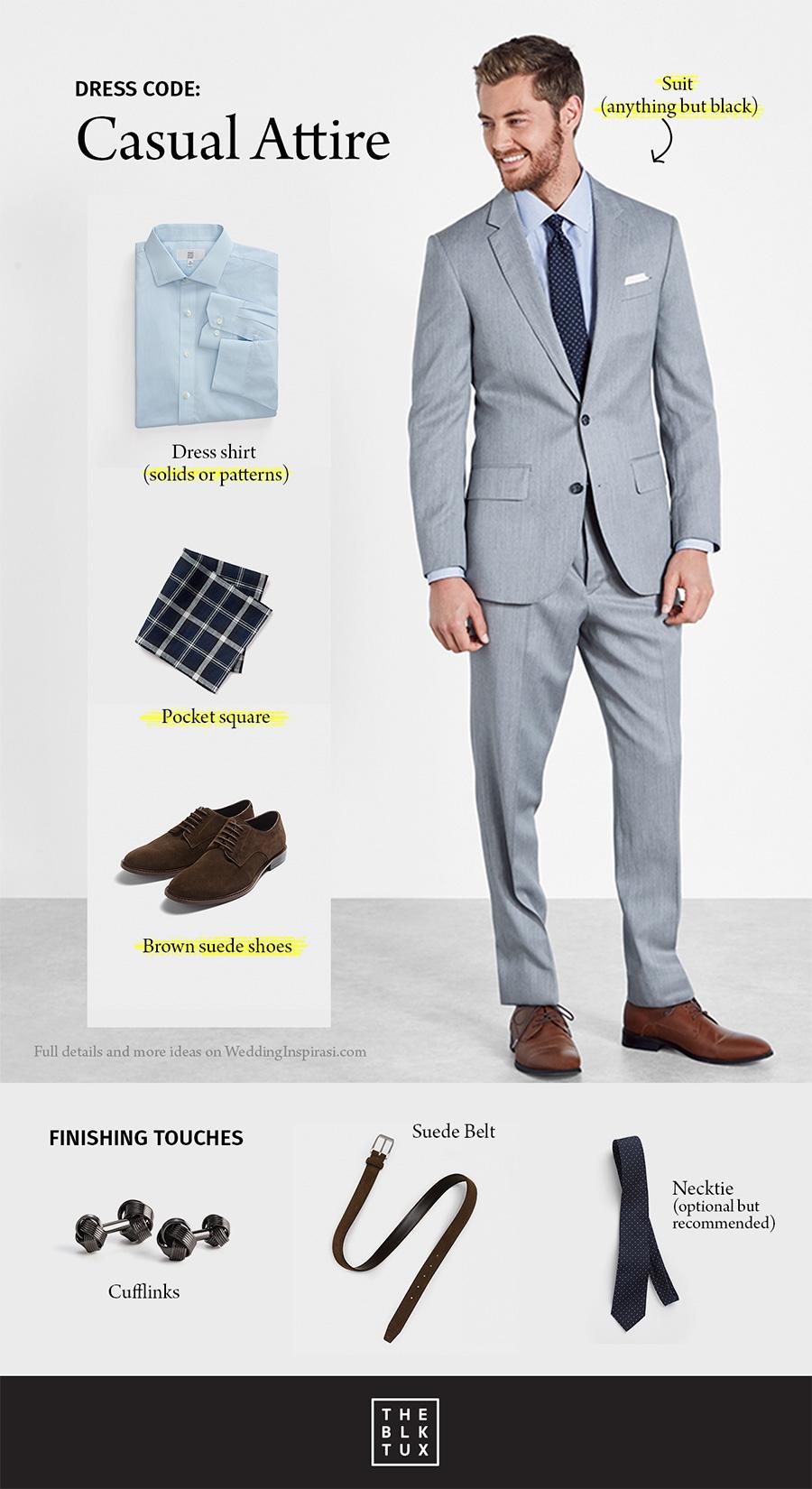 the black tux wedding dress code casual attire modern style suit tuxedo rental service