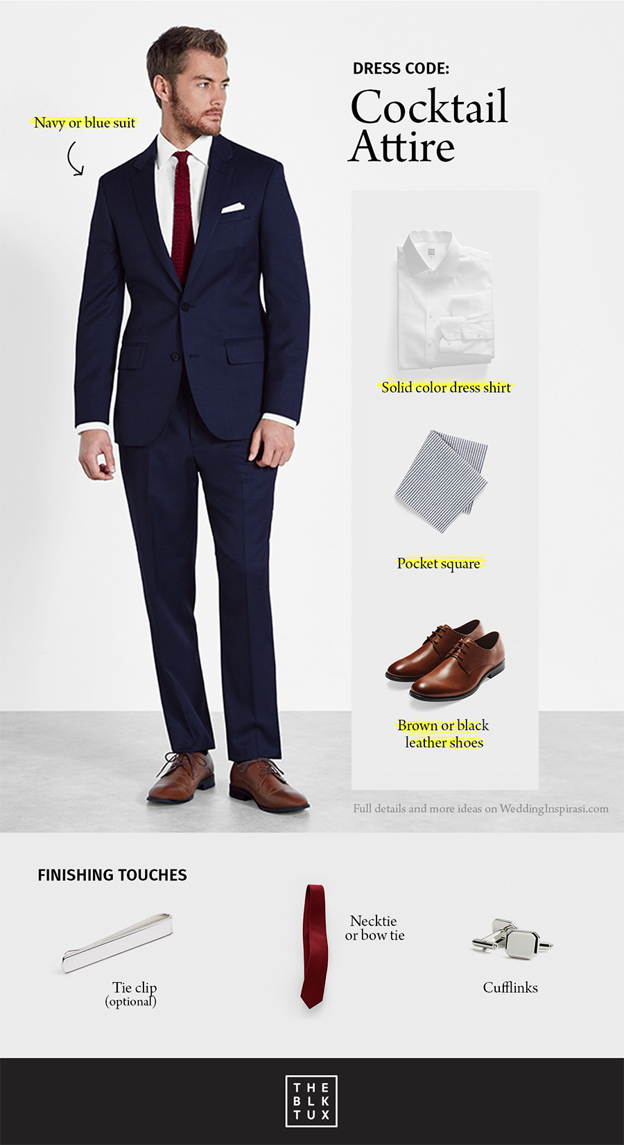 Decoding Dress Codes? Get Smart with The Black Tux | Wedding Inspirasi