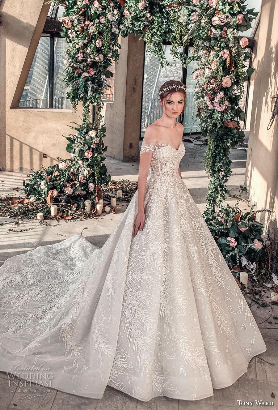 "tony ward la mariée spring 2019 wedding dresses — ""roman"