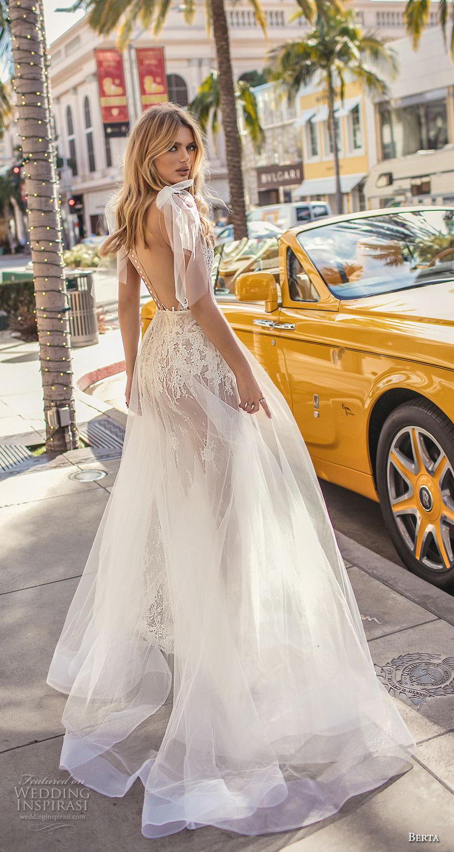 berta 2019 muse bridal sleeveless illusion jewel sweetheart neckline heavily embellished bodice romantic sheer button back sweep train (5) bv