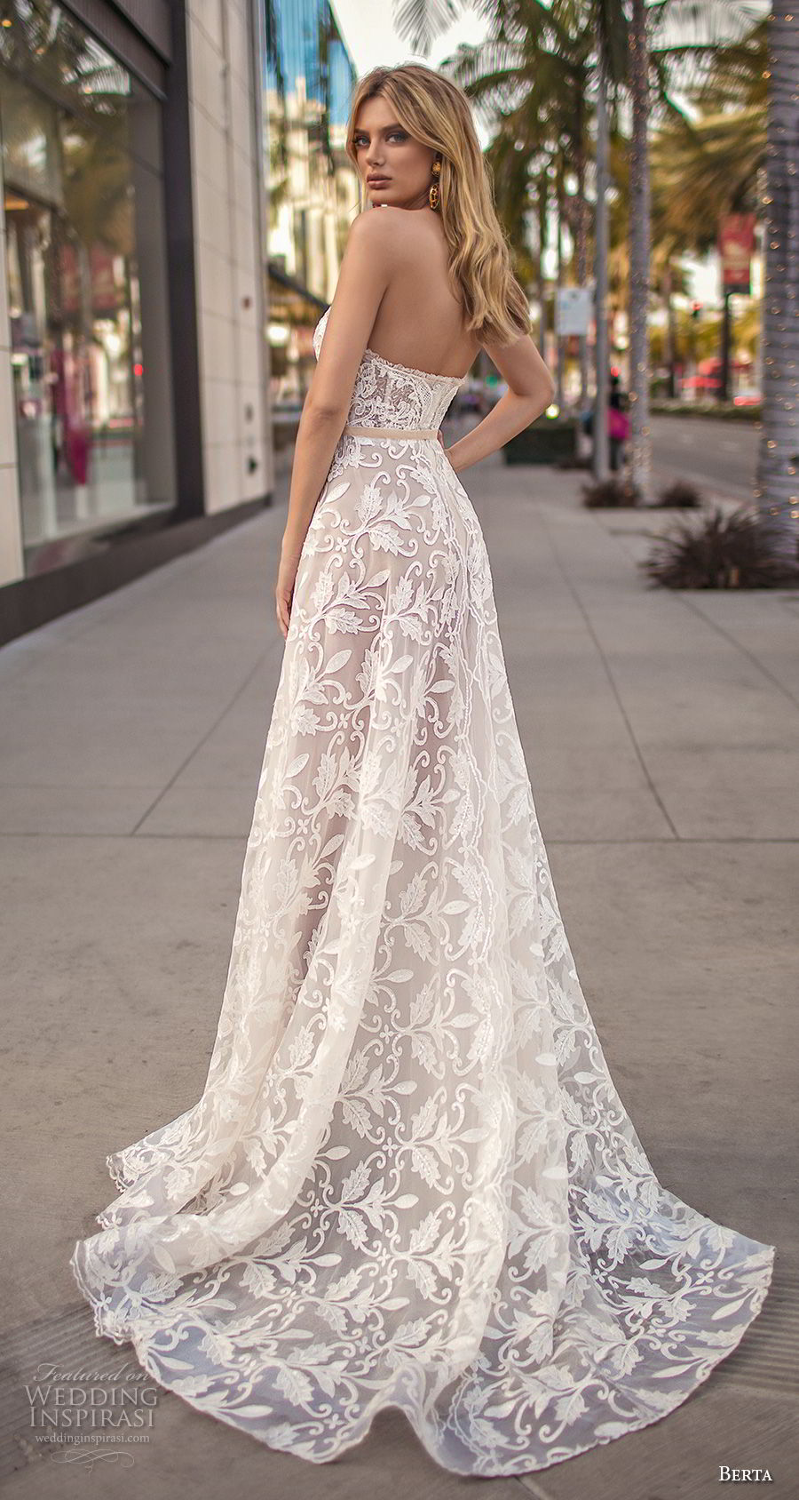 Muse by berta 2019 wedding dresses city of angels A line wedding dress 2019