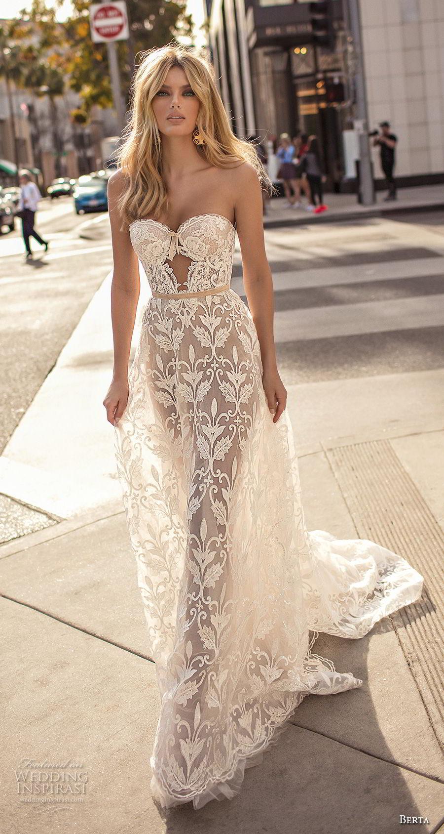 berta 2019 muse bridal strapless sweetheart neckline full embellishment romantic sexy soft a  line wedding dress chapel train (8) mv