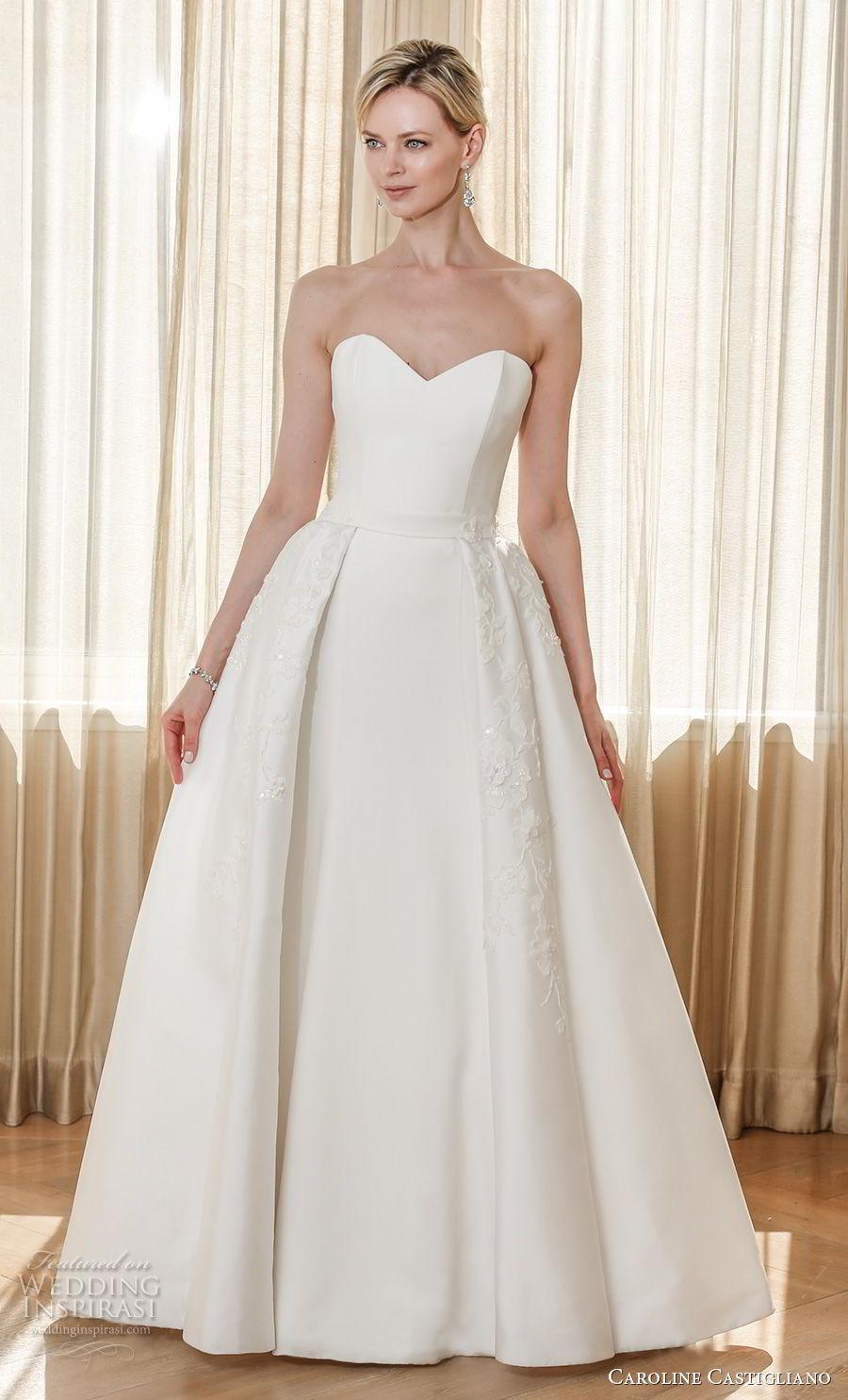 Caroline Castigliano 2019 Wedding Dresses | Wedding Inspirasi