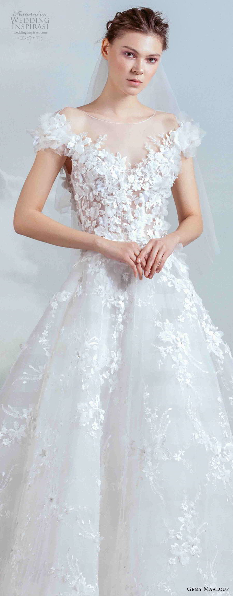 Gemy Maalouf 2019 Wedding Dresses The Royal Bride
