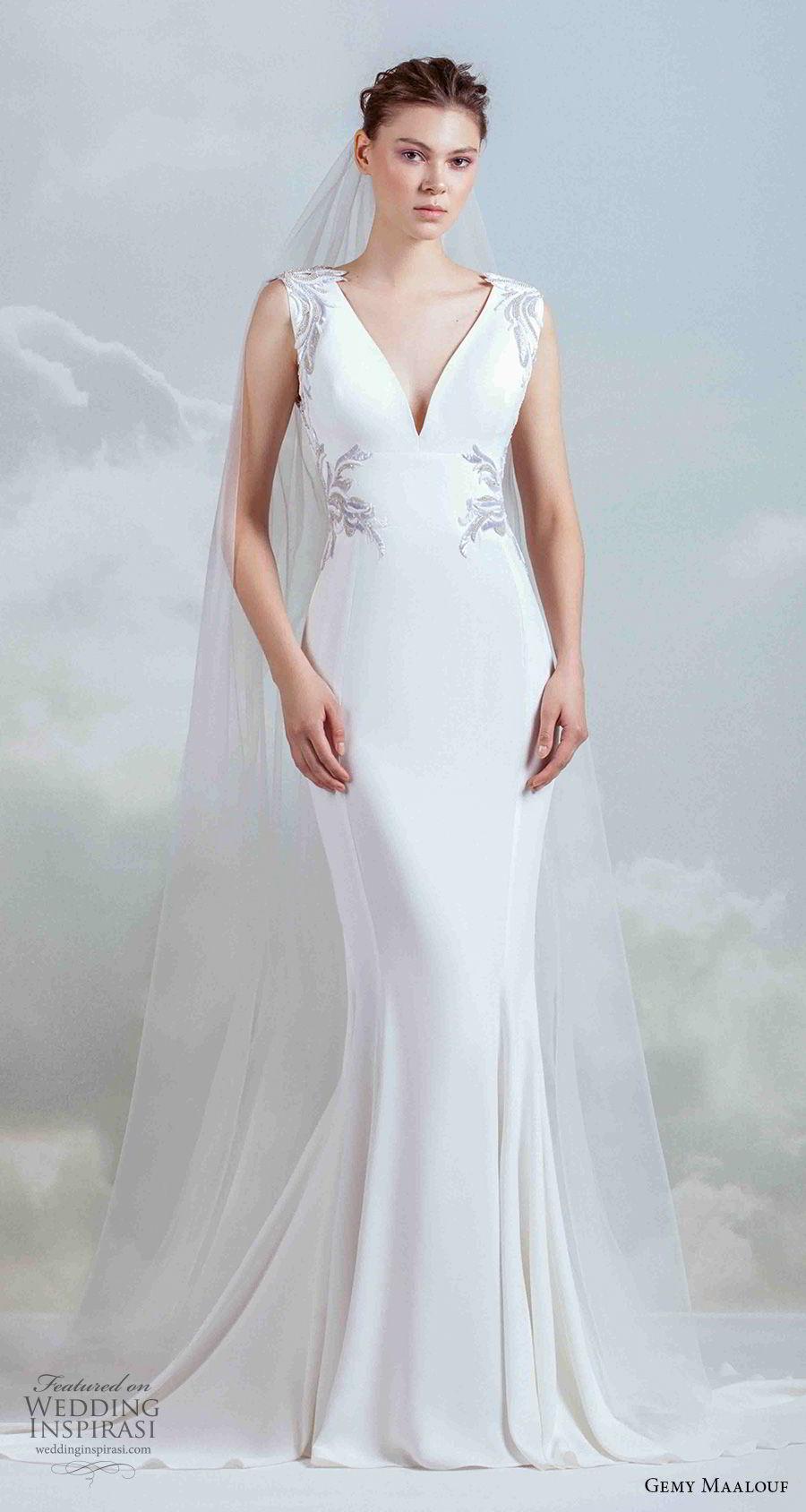 "Gemy Maalouf 2019 Wedding Dresses — ""The Royal Bride ..."