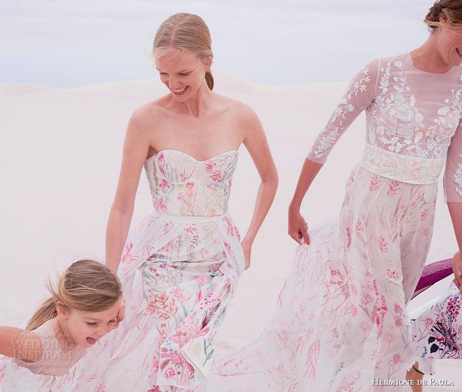 Hermione De Paula Spring 2019 Wedding Dresses