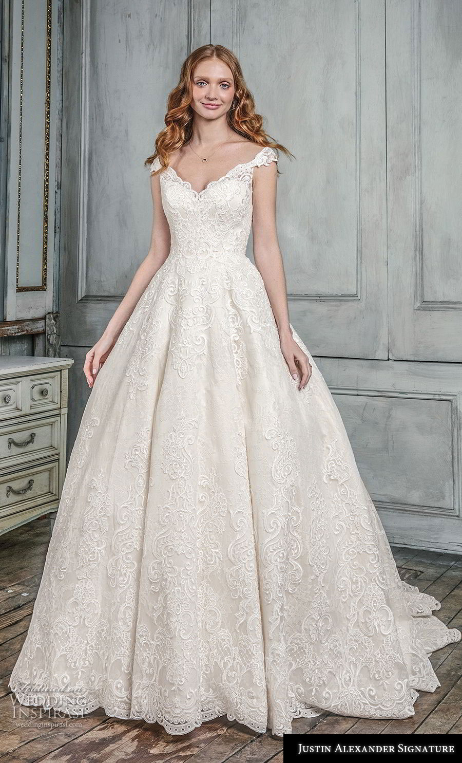 Justin Alexander Signature Fall 2018 Wedding Dresses | Wedding Inspirasi
