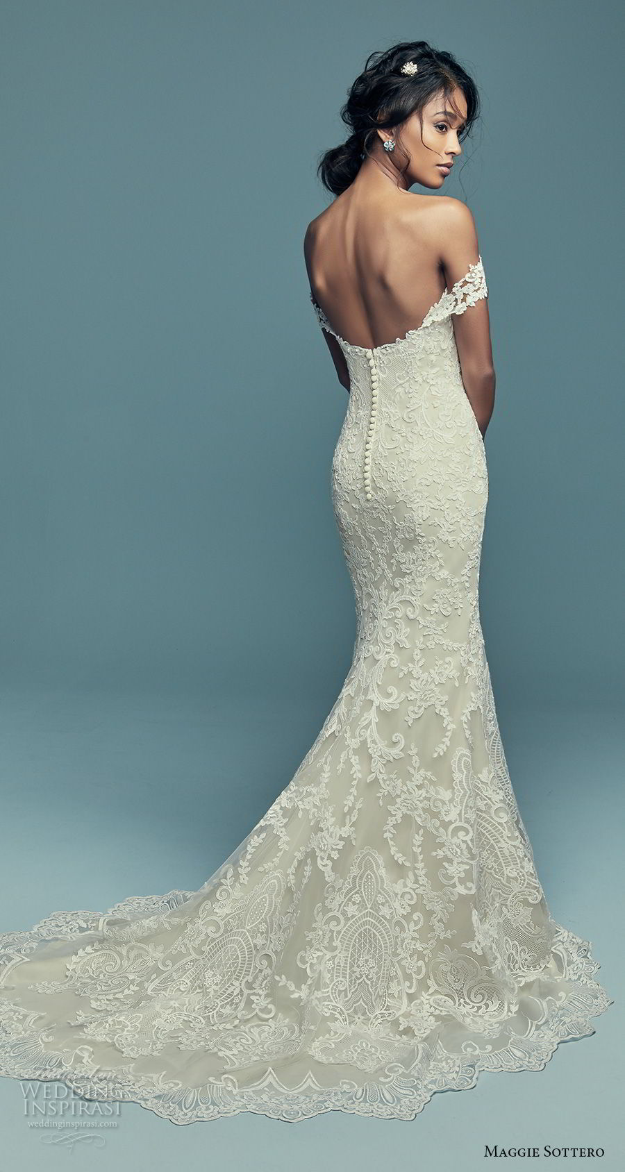 "Maggie Sottero Fall 2018 Wedding Dresses — ""Lucienne"" Bridal ..."