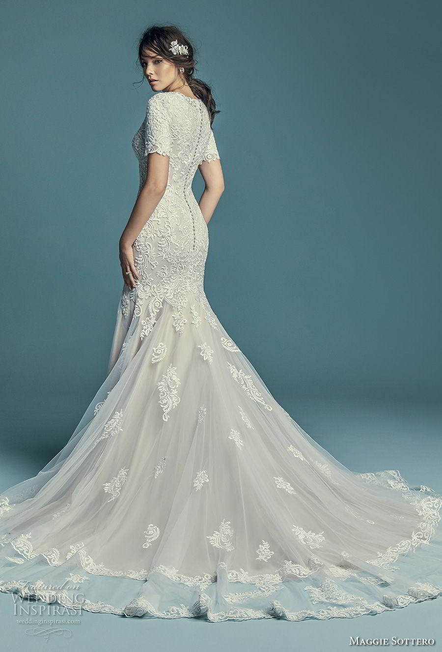 Nice Modest Short Wedding Dresses Image Collection - All Wedding ...