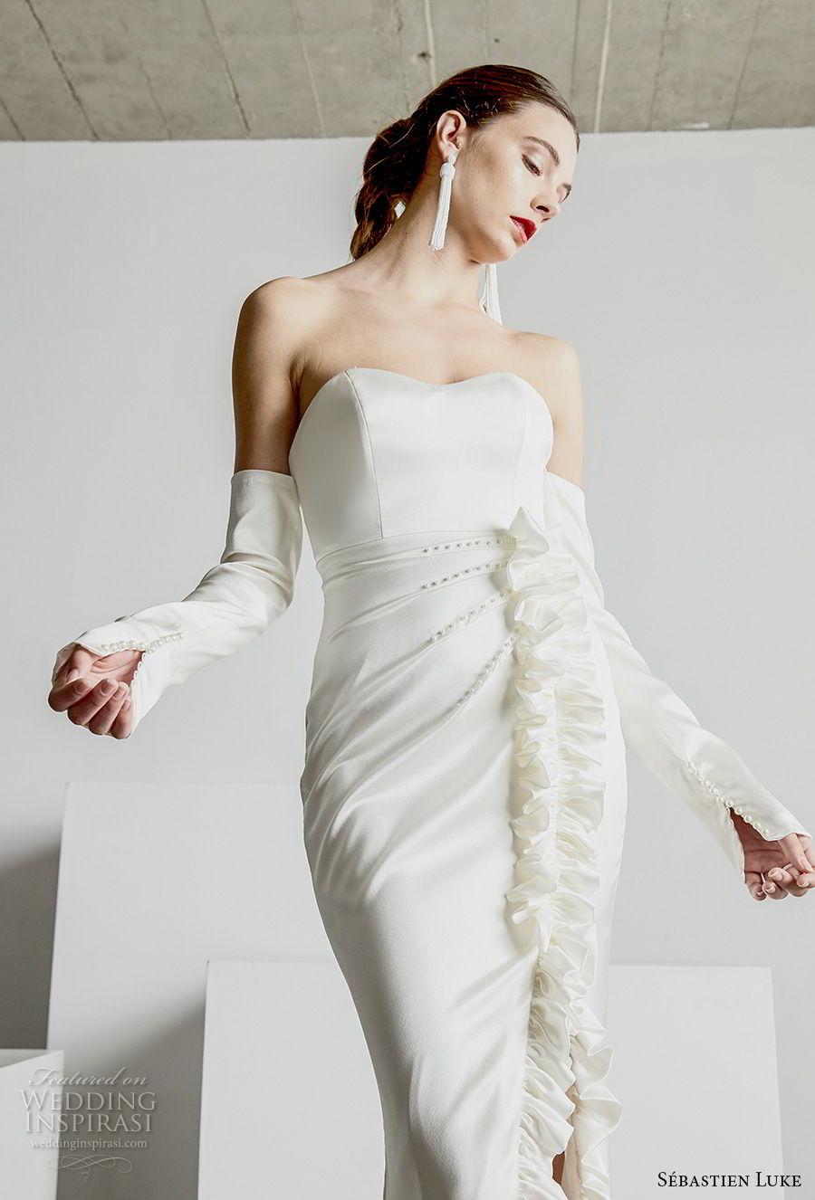S 233 Bastien Luke Spring 2019 Wedding Dresses Wedding Inspirasi