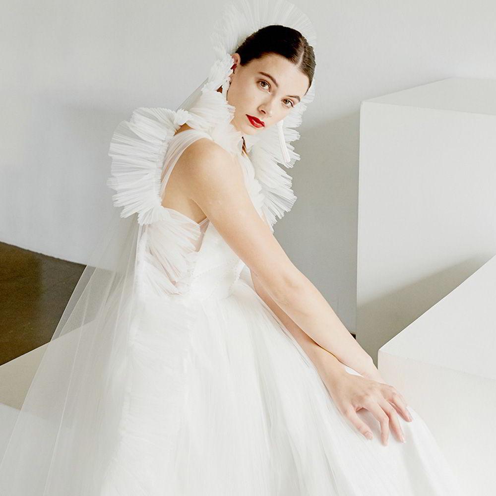 Where To Buy Non Traditional Wedding Dresses: Sébastien Luke Spring 2019 Wedding Dresses