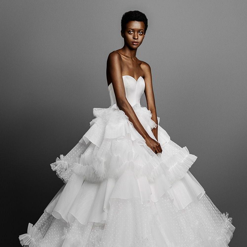 Wedding inspirasi wedding dresses cakes bridal accessories hair viktorrolf spring 2019 wedding dresses junglespirit Gallery