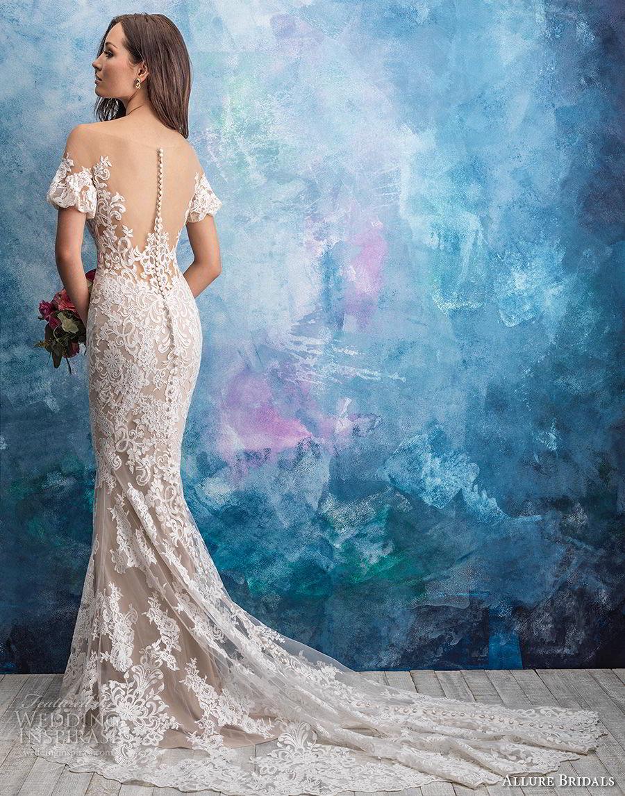 Allure Bridals Fall 2018 Wedding Dresses Wedding Inspirasi