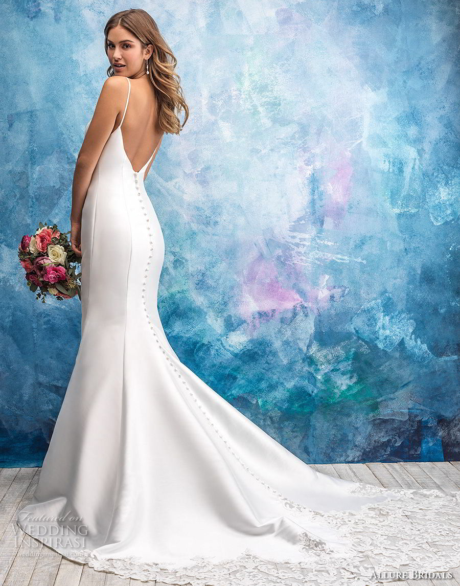 Allure Bridals Fall 2018 Wedding Dresses Wedding Inspirasi