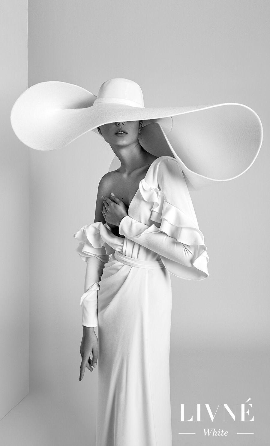 alon livne 2018 2019 white bridal long sleeves deep v neck wrap over simple elegant modern sheath wedding dress (isabella) mv