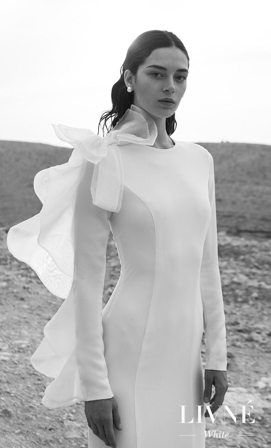 Livné White Wedding Dresses Are Perfect