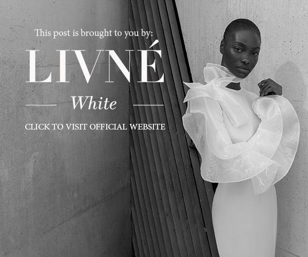 alon livne 2018 2019 white bridal sponsor banner