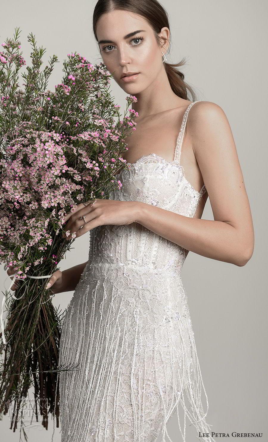 lee petra grebenau pre 2019 bridal sleeveless thin strap sweetheart neckline full embellishment bustier fit and flare wedding dress open back (6) zv