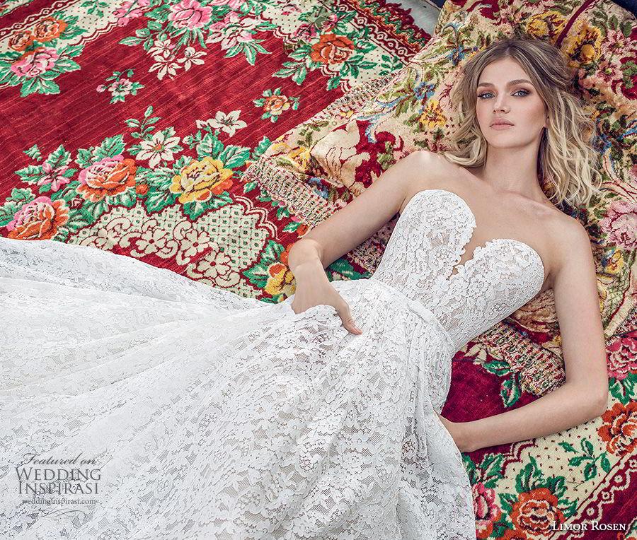 limor rosen 2019 xo bridal strapless deep plunging sweetheart neckine full embellishment romantic a  line wedding dress with pockets chapel train (6) zv mv