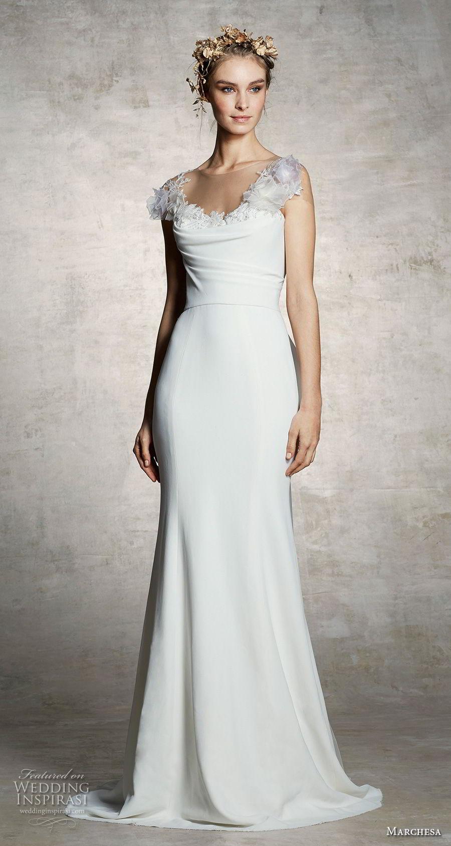 Marchesa Spring 2019 Wedding Dresses Wedding Inspirasi