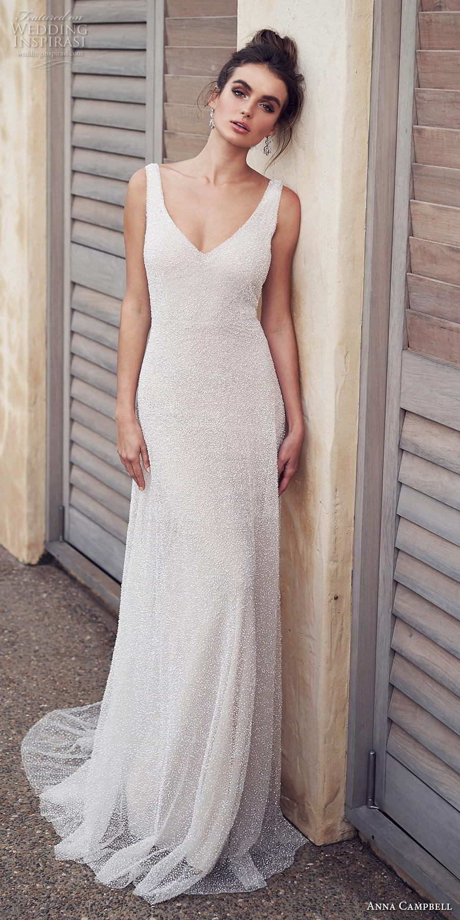 anna campbell 2019 bridal sleeveless v neck full embellishment gltizy simple elegant modified a line wedding dress backless v back sweep train (10) mv