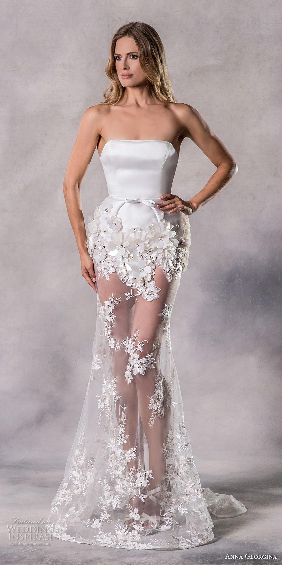 Anna Georgina 2019 Couture Wedding Dresses Pandora