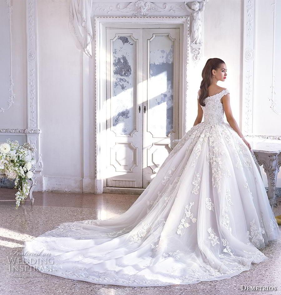 Dimitri Wedding Gowns: Platinum By Demetrios 2019 Wedding Dresses